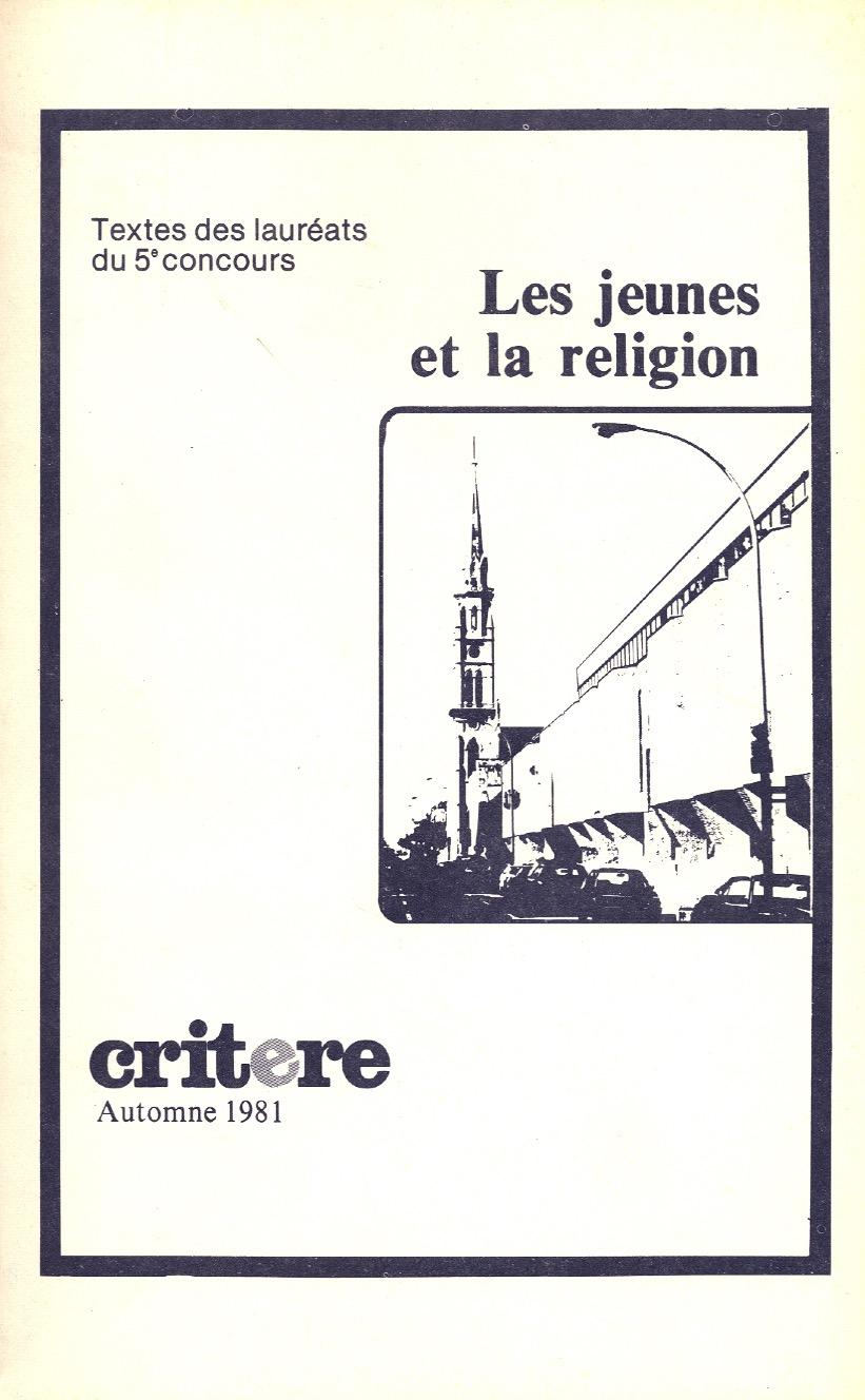Les jeunes et la religion | 1980-1981