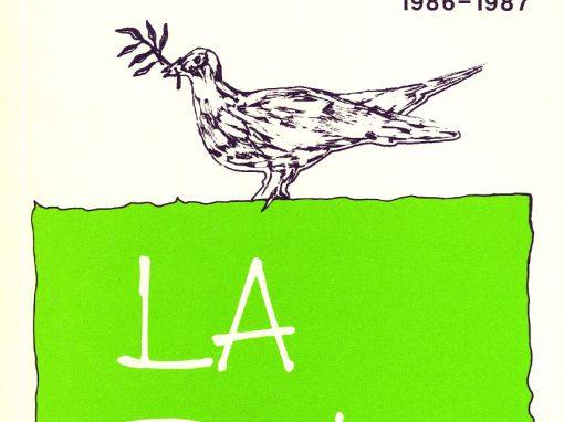 La paix | 1986-1987