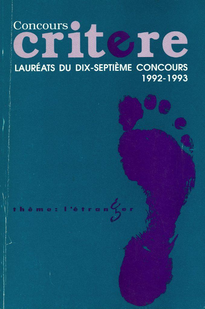 L'étranger | 1992-1993